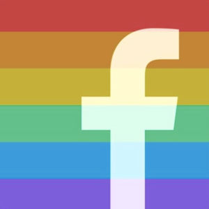FACEBOOKiconRAINBOW
