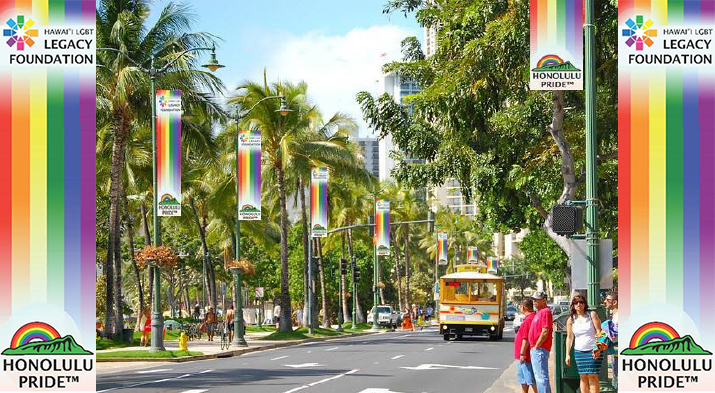 Rainbows Over Waikiki: A Project of the Hawaii LGBT Legacy Foundation for Honolulu PrideTM