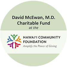 David McEwan MD Charitable Fund  2018 Honolulu Pride Gold Sponsor