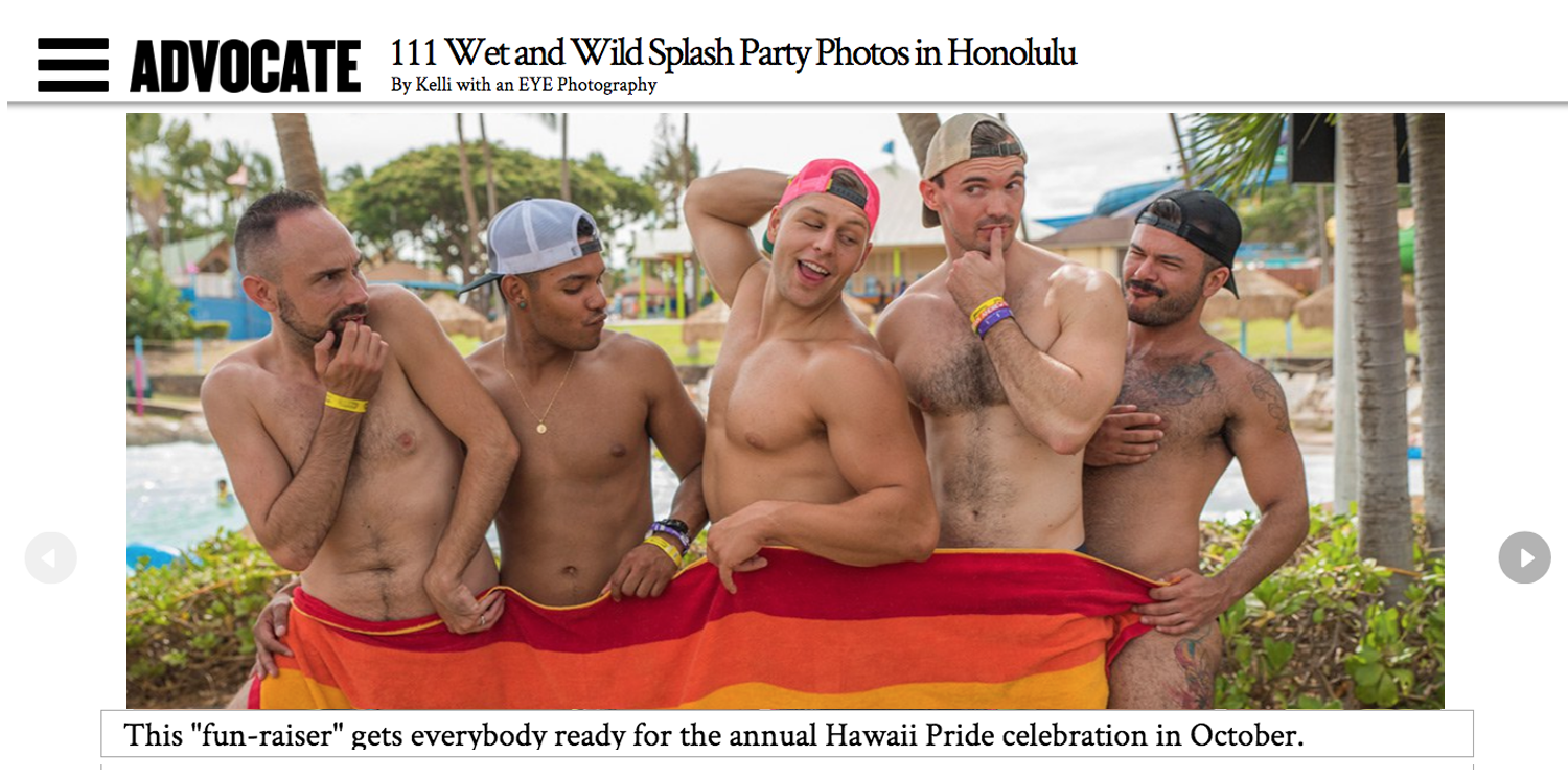 SPLASH: A Day of LGBTQ Pride at Wet 'n' Wild Hawaii