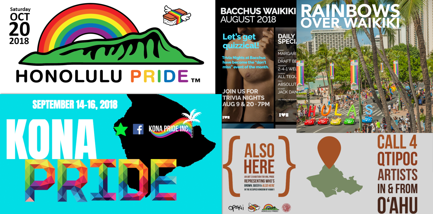 LGBTQ Community Events Calendar: A Project of the Hawaii LGBT Legacy Foundation