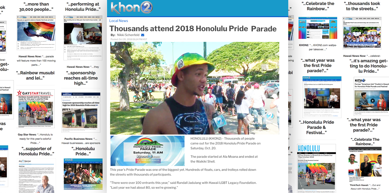 Honolulu Pride 2018