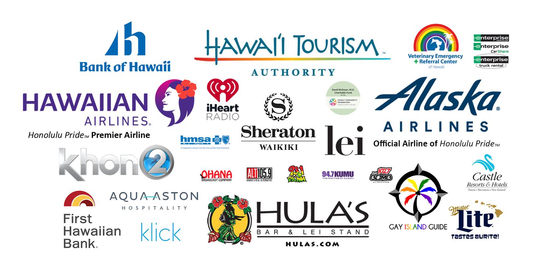Honolulu Pride 2018 Sponsors