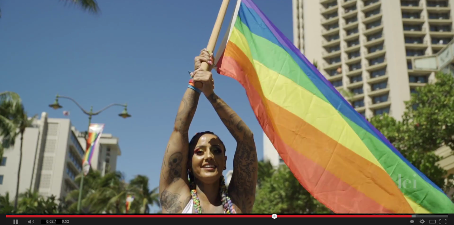 Rainbows Over Waikiki LEI Magazine Honolulu Pride Recap