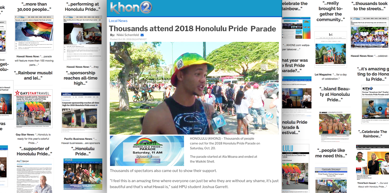 Honolulu Pride 2018