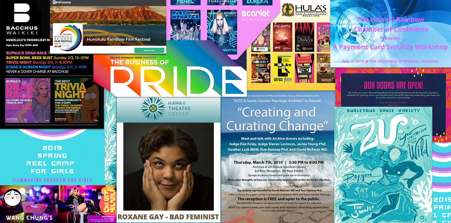 Honolulu Gay Lesbian Bisexual Transgender Queer Events Calendar