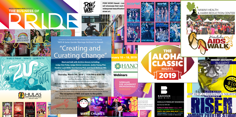 Honolulu Gay Lesbian Bisexual Transgender Queer Events Calendar